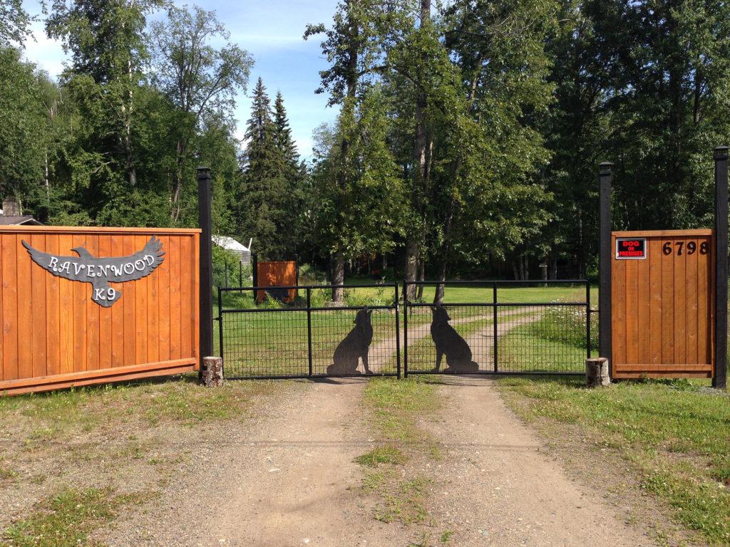 Ravenwood K9 Kennels - Front Gate